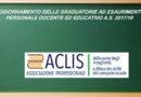 AGGIORNAMENTO DELLE GRADUATORIE AD ESAURIMENTO PERSONALE DOCENTE ED EDUCATIVO A.S. 2017/18