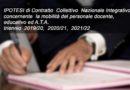 IPOTESI di Contratto Collettivo Nazionale Integrativo