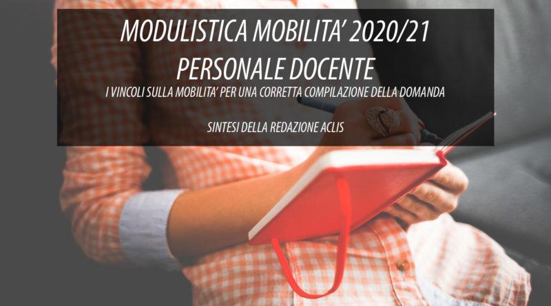 MODULISTICA MOBILITA' 2020