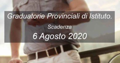 Graduatorie Provinciali di Istituto
