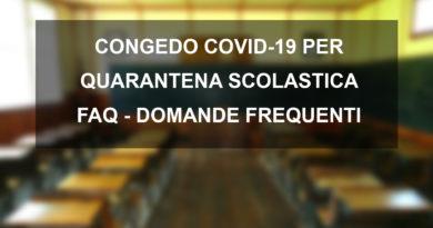 CONGEDO COVID-19