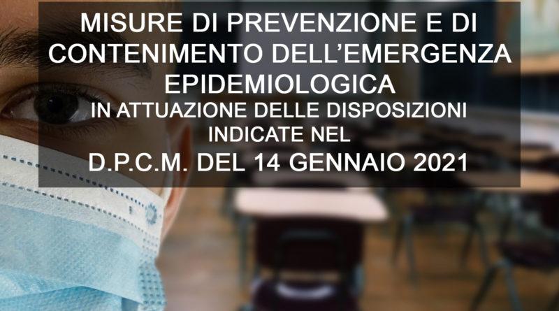 misure di prevenzione e contenimento
