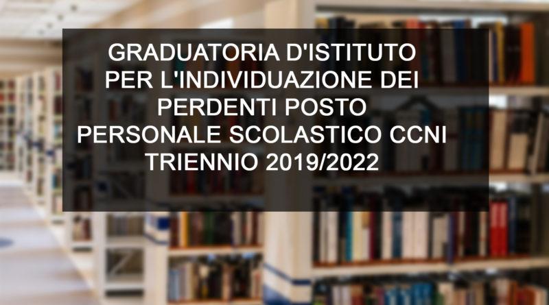 GRADUATORIA D'ISTITUTO